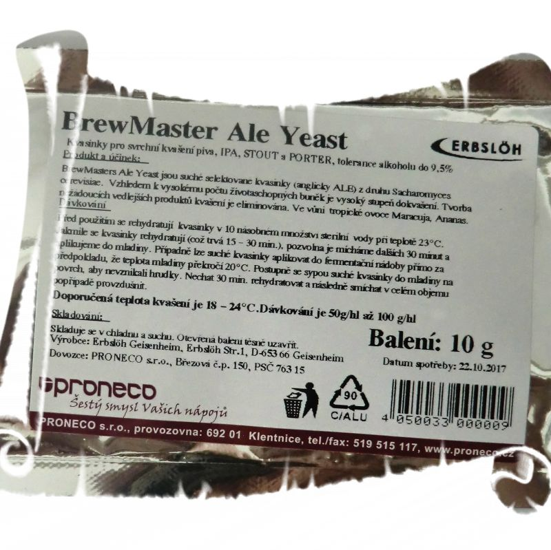 Ale Yeast 10g